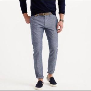 J.Crew slim fit chambray pants